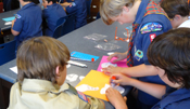 Boy Scout troop visits TO